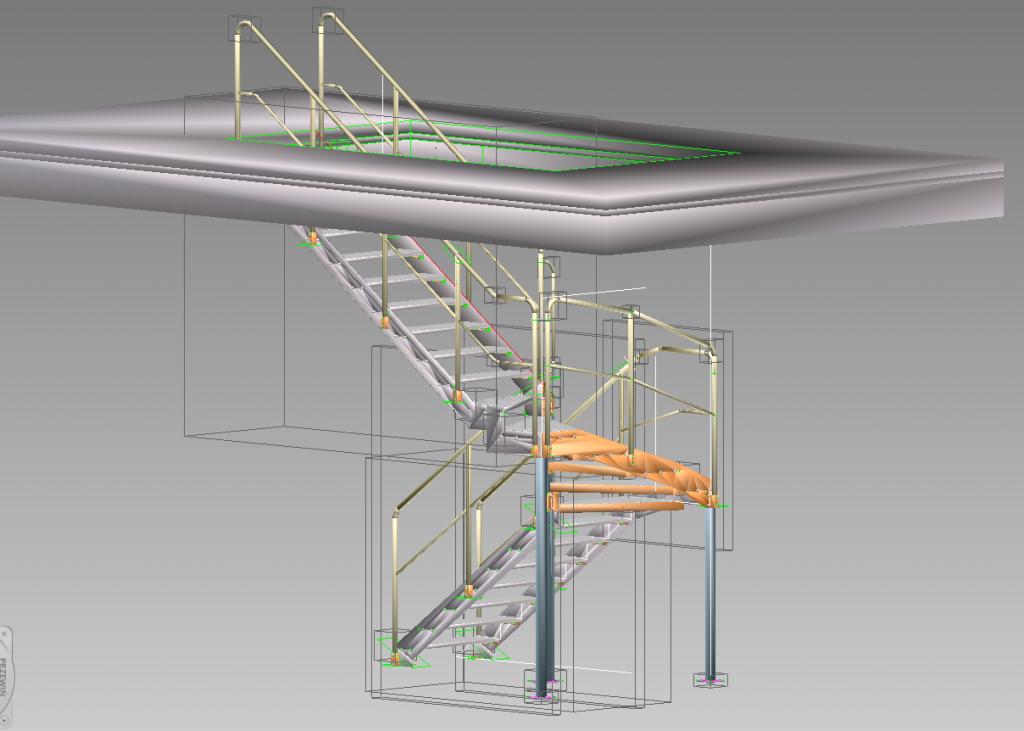 schody zewnętrzne stalowe dolnośląskie