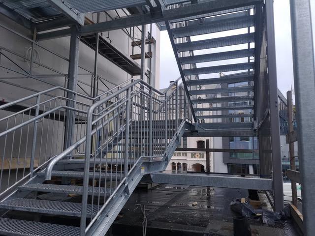 schody o konstrukcji stalowej lubuskie