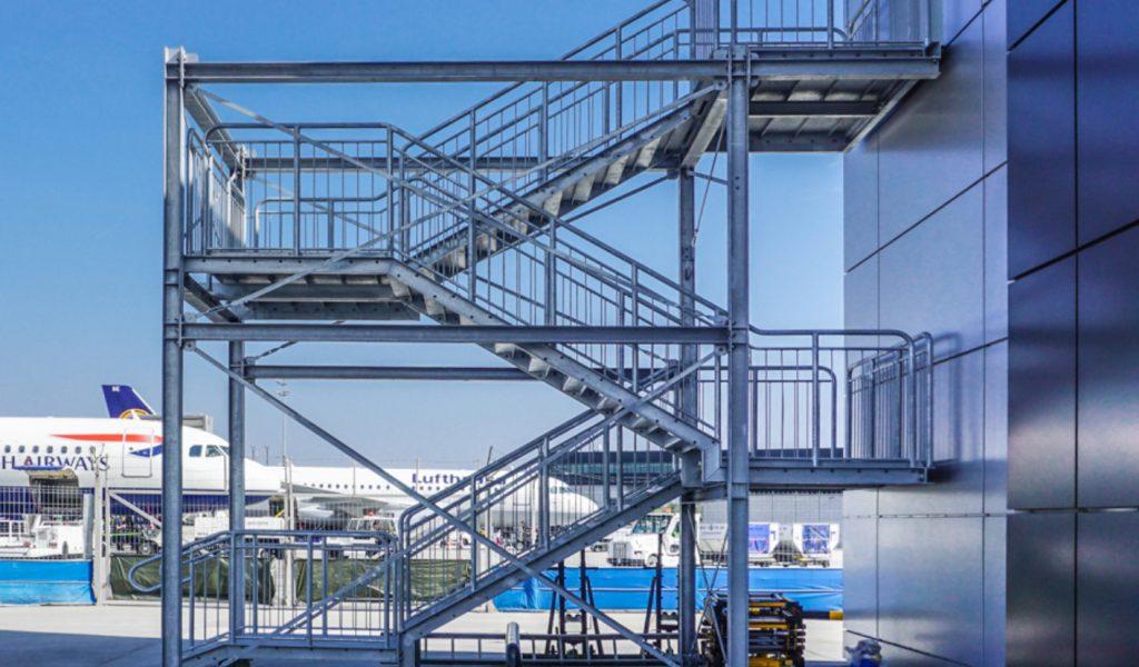 schody stalowe projekt wielkopolskie